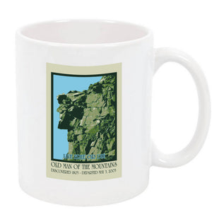 Old Man of the Mountain Full Color Coffee Mug