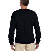 Embroidered Shadow Eagle Crew Neck Sweatshirt