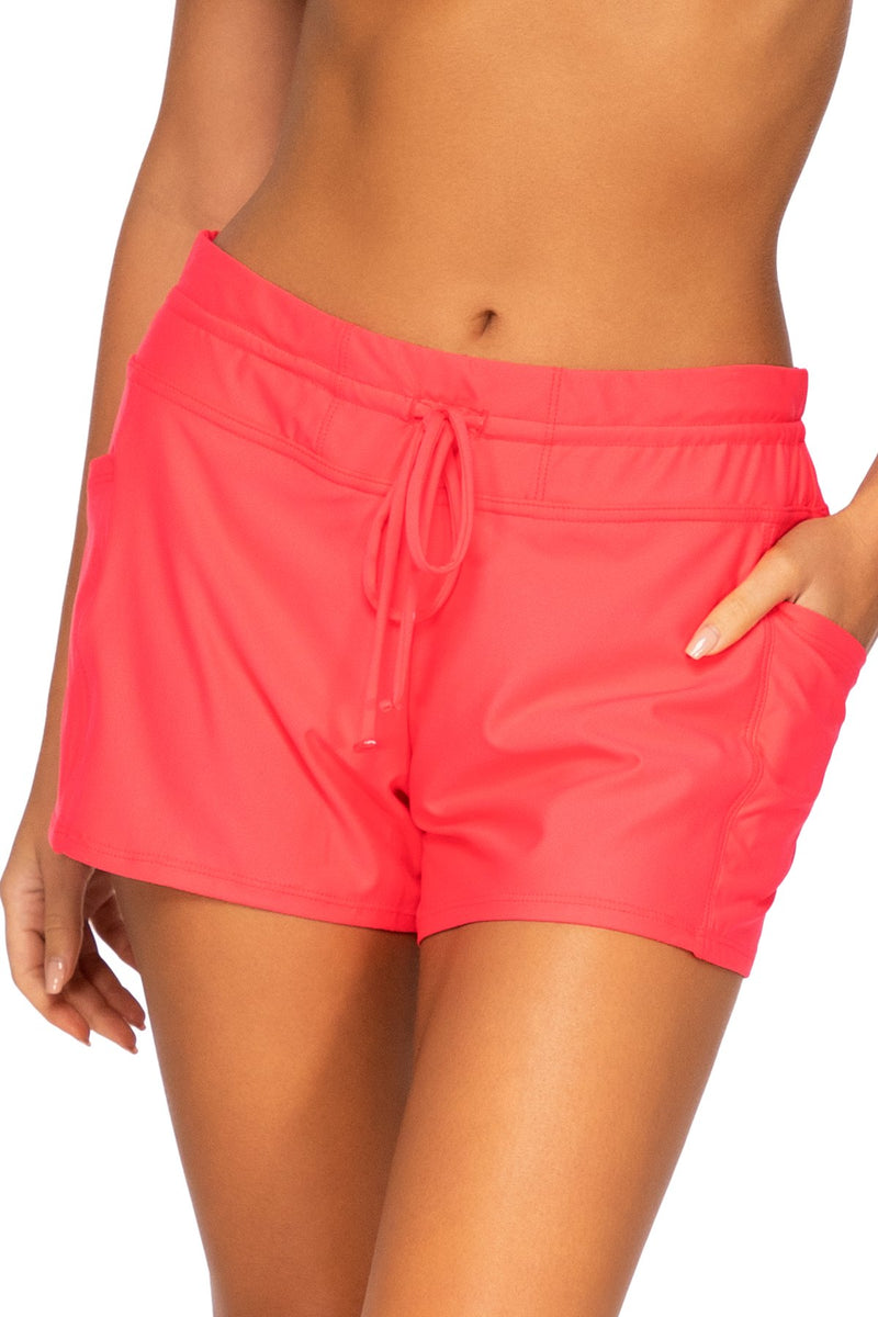 Sunsets Escape Nectarine Laguna Swim Short