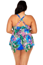 Sunsets Escape Island Safari Savannah Keyhole Tankini