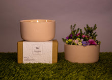Load image into Gallery viewer, Refresh Aromatherapy Soy Scented Candle - 3 Wick - Wellness By Manuel