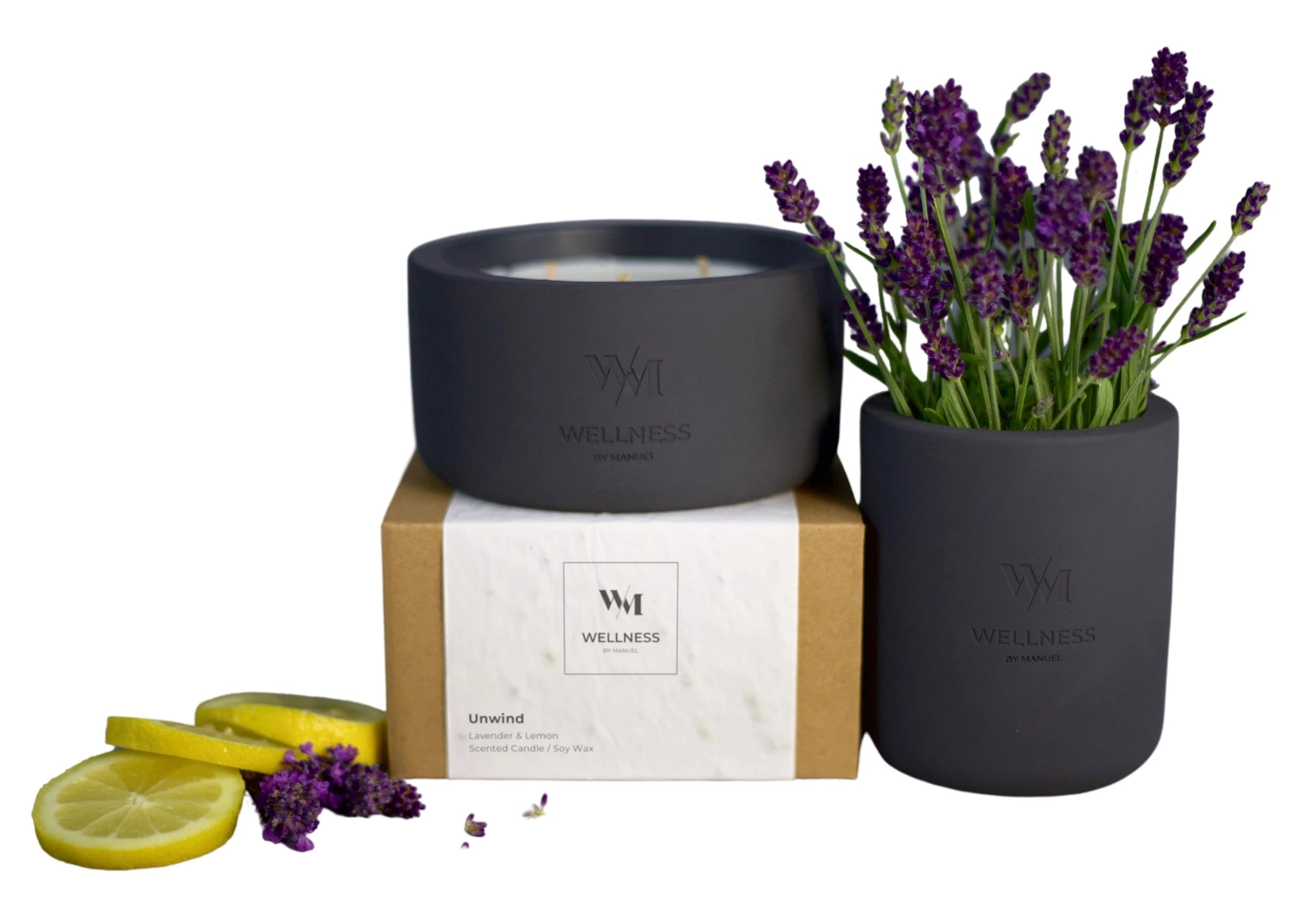 soy natural wax candle flower recycle re-use upcycle essential oils wild flowers seed paper