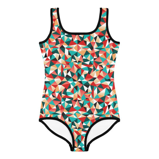 All-Over Print Kids Swimsuit - Lootm3e