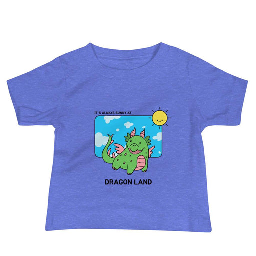 Dragon Land Short Sleeve Tee - Lootm3e