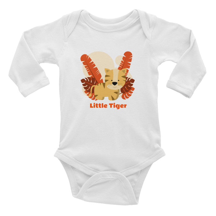 Infant Long Sleeve Bodysuit - Lootm3e