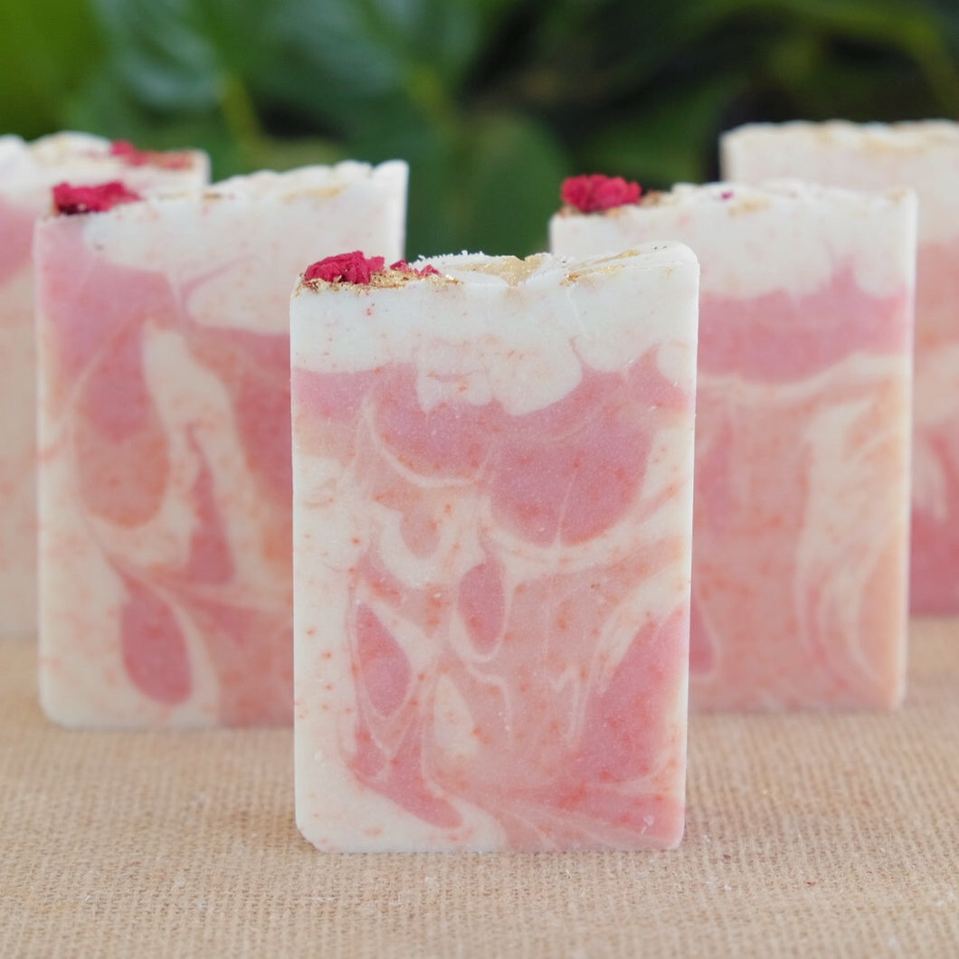 Grapefruit Lily Exfoliating Soap