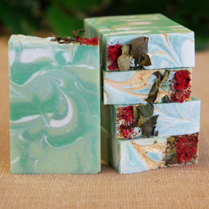 Emerald Agave Soap