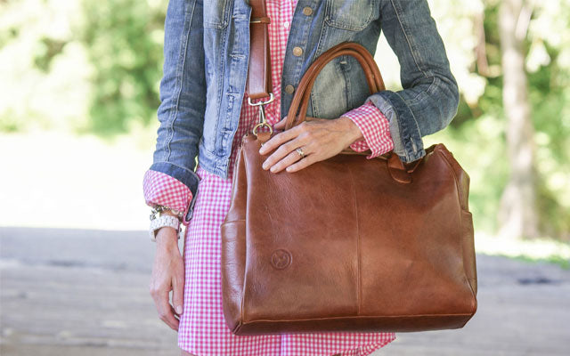 Oemi Baby Leather Diaper Bag: A Dream Bag