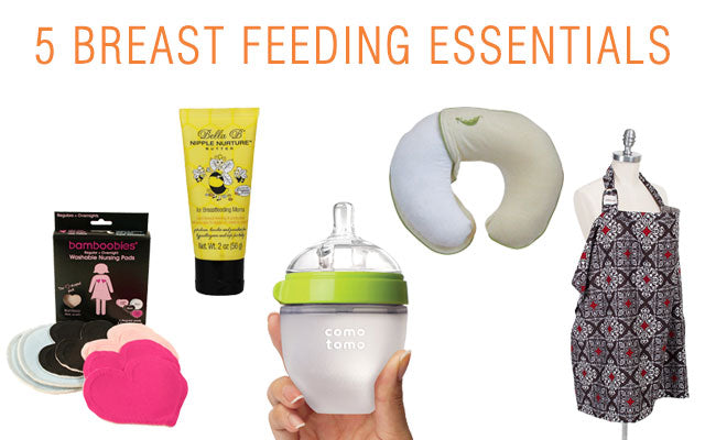 5 Must Have Products for BreastFeeding Moms