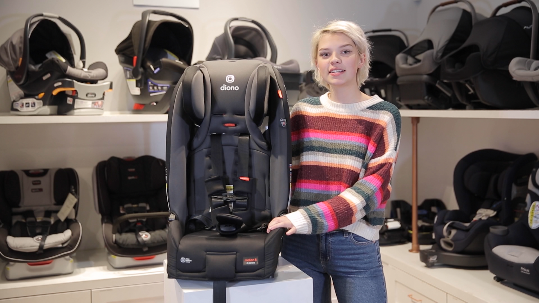 Video: Diono Radian 3RXT Convertible Car Seat