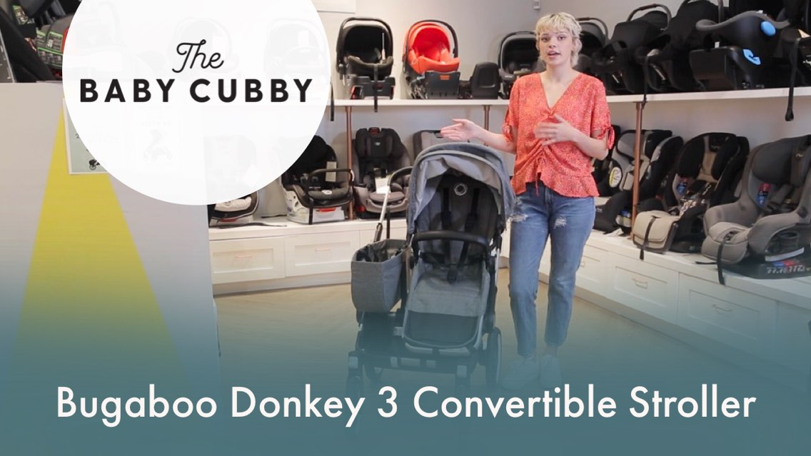 Video: Have your hands full? Get the Bugaboo Donkey 3 Stroller!