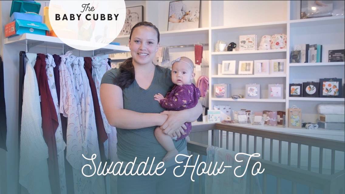 Video: Swaddle How-To