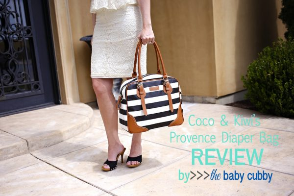 Coco & Kiwi Provence Diaper Bag Review.