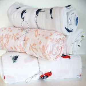 Little Unicorn Cotton Swaddle