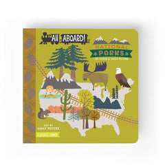 All Aboard Primer Book- National Parks by Lucy Darling