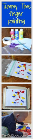 Time time finger painting ideas for baby