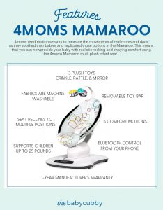 4Moms Mamaroo Features