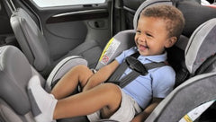 Car seats and car seat accessories that Baby Cubby carries