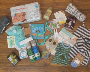 *All products in the photo can be found in-store at The Baby Cubby and most can be found online at babycubby.com