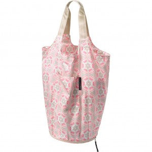 expanded Faraway Fold-out Tote in Blooming Brixham