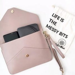 Coco and Kiwi Milan Clutch with Changing Essentials