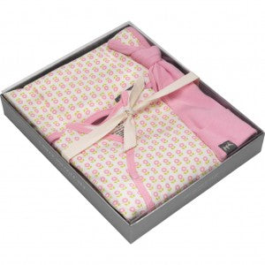 Boxed Snuggle Set in Dainty Daisies