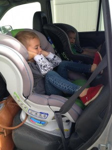 Kid in Carseat