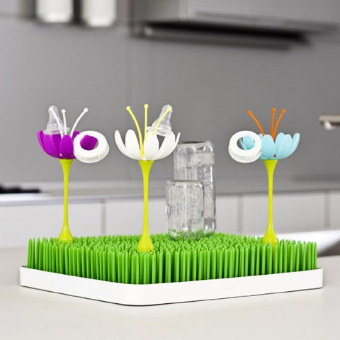 Boon Stem Accessories on Grass Drying Rack