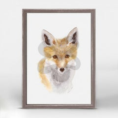 fox pup picture wall hanging