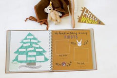 """Lucy Darling """"Baby's First Year Memory Book -Little Camper"""""""