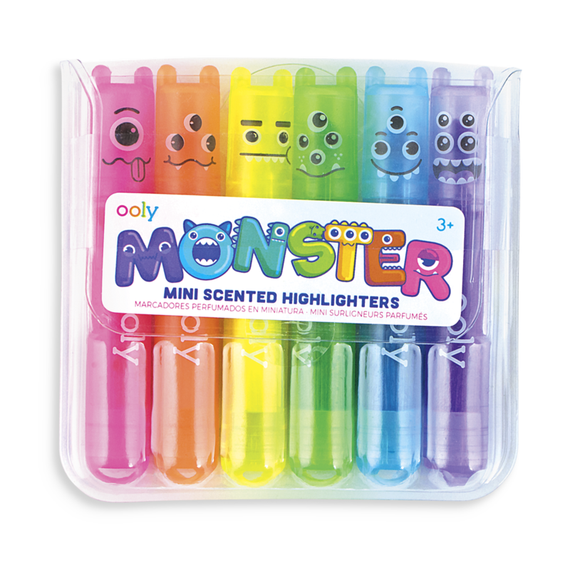 Mini Monster Scented Highlighter Markers - OOLY