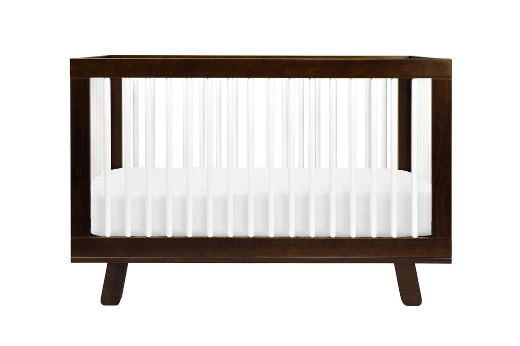 Hudson 3-in-1 Convertible Crib with Toddler Bed Conversion Kit - BLET