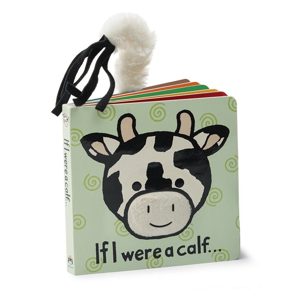 If I Were a Calf Board Book - JELL