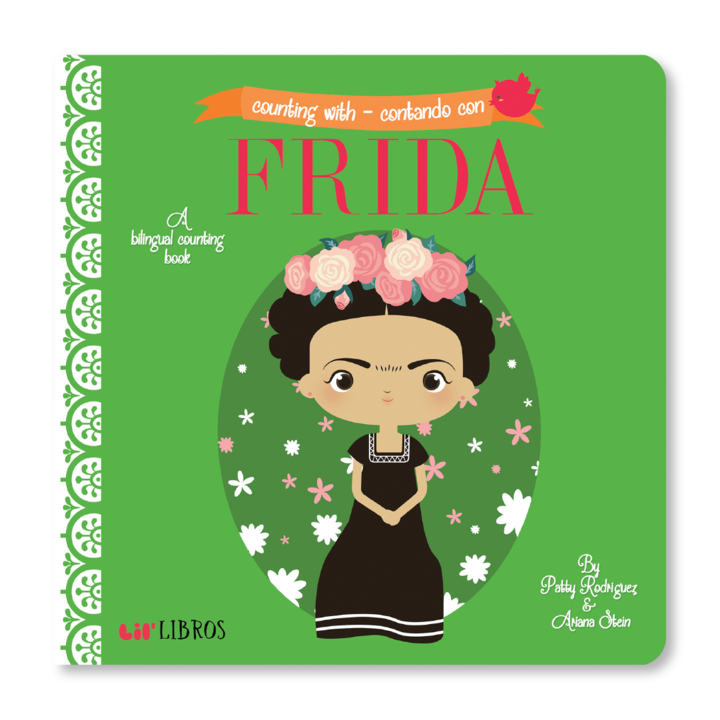 Board Book - Counting with/Contando con Frida - BLIT