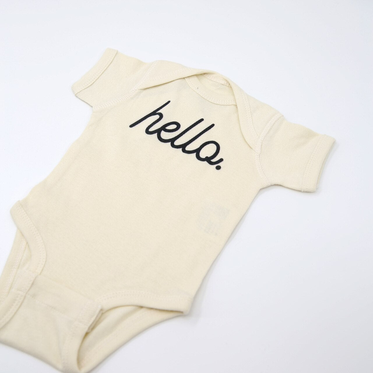 Graphic Shortsleeve Bodysuit - Hello - APER