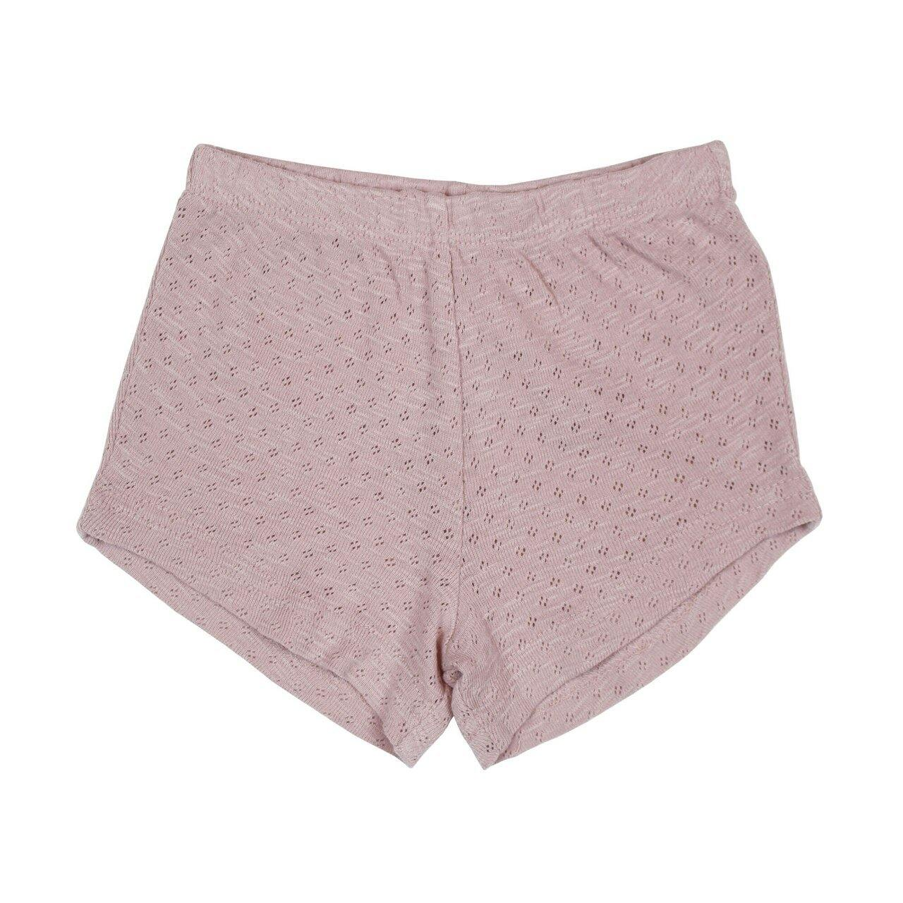 Pointelle Tap Shorts - Thistle - LVDB