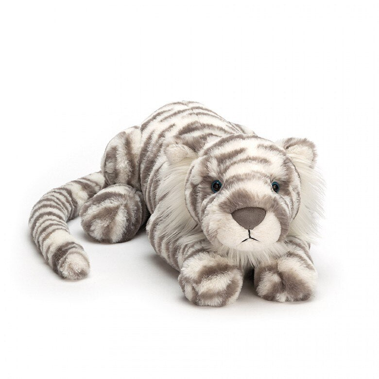 Sacha Snow Tiger Plush Toy - JELL
