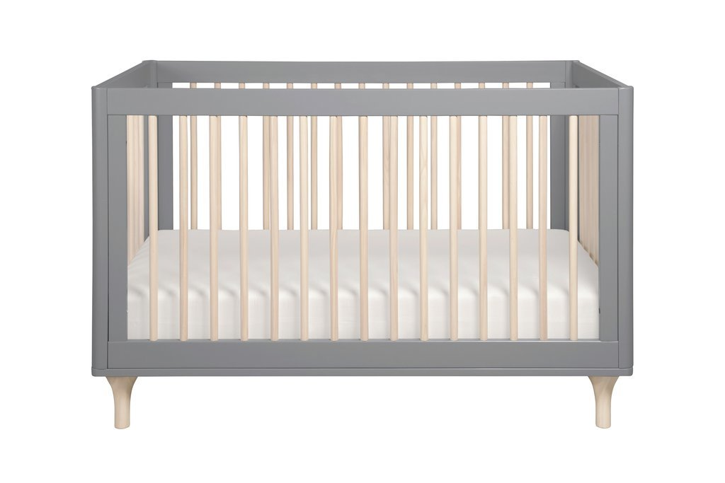 Lolly 3-in-1 Convertible Crib with Toddler Rail - BLET