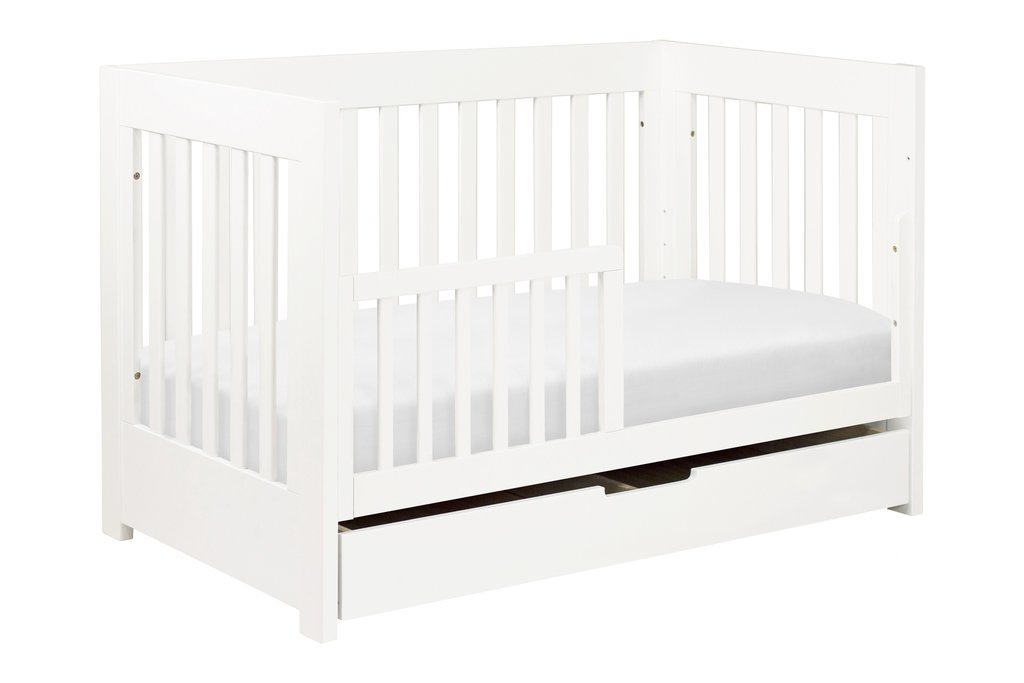 Mercer 3-in-1 Convertible Crib with Toddler Bed Conversion Kit - BLET