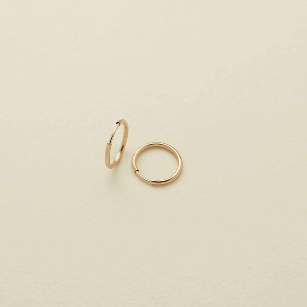 Gold Filled Live In Hoop Earrings - MBM