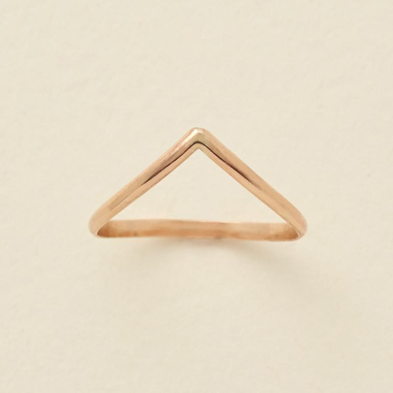 Gold Filled Peak Ring - MBM