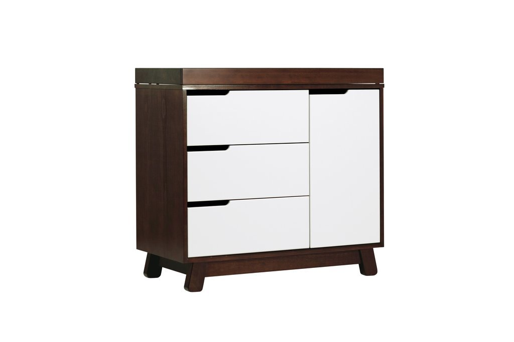 Hudson 3-Drawer Changer Dresser with Removable Changing Tray - BLET
