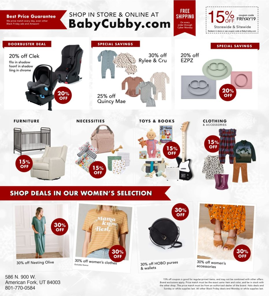 Black Friday sale catalog continued