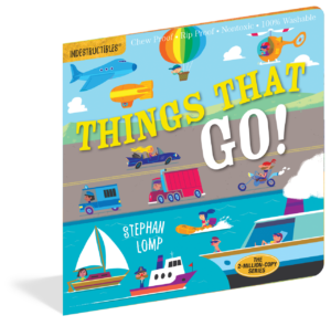 Workman Publishing Indestrucibles Book - Things That Go
