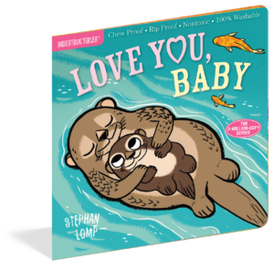 Workman Publishing Indestrucibles Book - Love You Baby