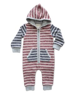 Me and Henry Hooded Romper - Baby Cubby
