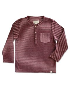 Me and Henry Henley Longsleeve - Baby Cubby