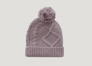 Cable Knit Hat - Fawn