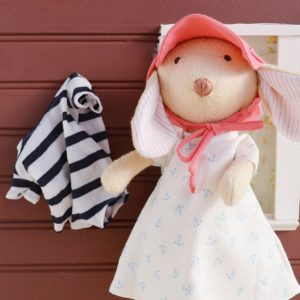 Organic Animal Doll Outfit - Bathing Suit Outfit