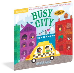 Workman Publishing Indestructibles Book - Busy City